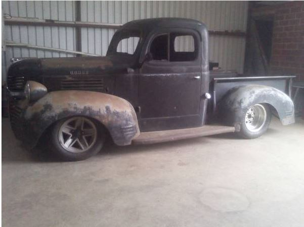 Quick Snapshot On A Build; 1947 Dodge Pick Up | BIGBOLT101